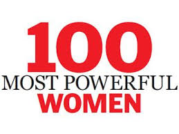 100 most powerful women