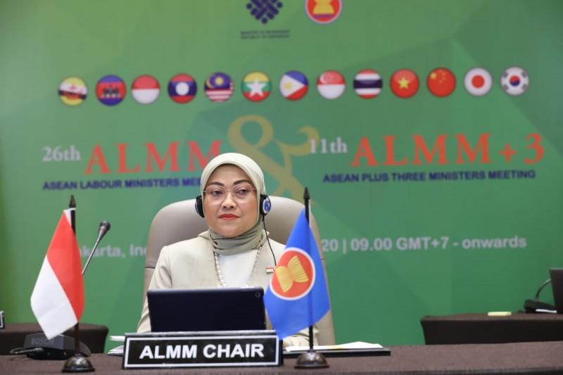 Menaker Ida Terpilih Sebagai Ketua Menaker se-ASEAN