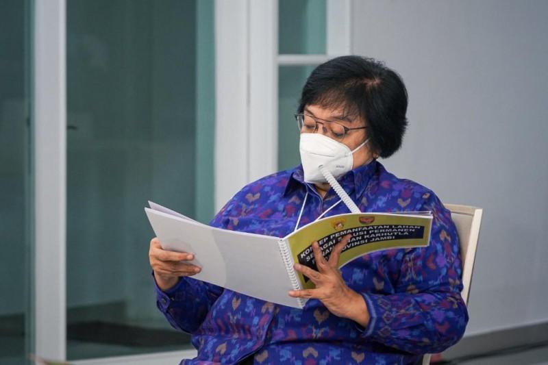 Menteri LHK Siti Nurbaya Ingatkan Pemda- Regulasi Pemetaan Harus Mengacu Pada Standar Nasional