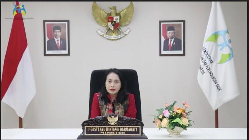 Berkomitmen Pada Kesetaraan Gender, Pemerintah Indonesia Menyelenggarakan Webinar Internasional Di Bidang Pemberdayaan Perempuan